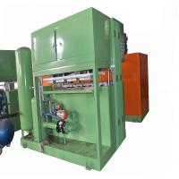 Aluminum Molds Forming Egg Paper Tray Making Machine Computer Controlled Manufactures