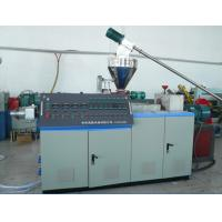 China Plastic Twin Extruder Machine SJSZ Series With High Torque Drive System on sale