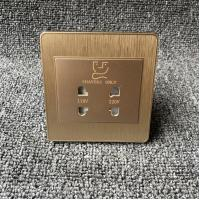 Dual Interface Conversion Razor Electric Shaver Socket For Hotel 220 Volt Manufactures