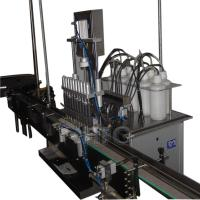 Semi - Automatic Can Filling Machine Production Line For Packing Granule Manufactures