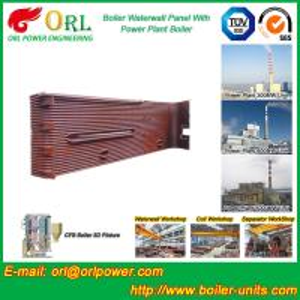 Power Station Boiler Water Wall Natural Circulation High Temperature Manufactures