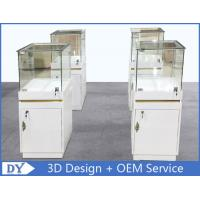 MDF Jewellery Display Cabinets With Lock OEM 450 X 450 X 1250MM Manufactures