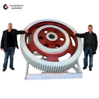 China Supplier 34CrNiMo6 Casting Large Diameter Steel Spur Gear Manufactures