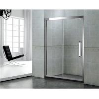 China 8 / 10 MM With Frames Shower Enclosures Tempered Glass With Stianless Steel Accessories on sale