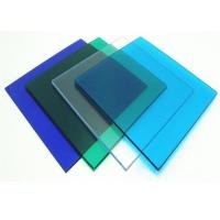 Anti Uv 4 * 8ft Clear Polycarbonate Sheet With High Light Transmission Manufactures