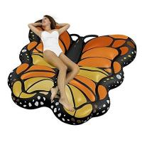 OEM Floating Mat Butterfly Sea Inflatable Ride On Pool Float Summer PVC Lounger Manufactures