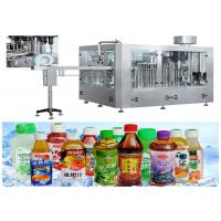 Easy Cleaning PET Bottle Filling Machine For Fresh Fruit Juice RCGF 18-18-6 Manufactures