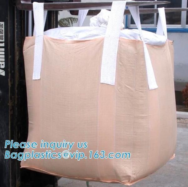 Quality Grain Fibc Bulk Bags Pp Woven For Sand Jumbo Sand / Food / Rice for sale
