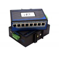 China Mini Industrial Ethernet Switch  Flow Control 12v , Gigabit Ethernet Switch 8 Port on sale
