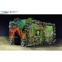 Dinosaur Cinema Box, Mobile 5D Motion Theater Movie Equipment For Theme Park Manufactures
