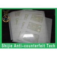 Quality Rounded rectangles SC hologram without backlight 50um adhesive high quality for sale