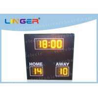 8 Digits Simple Function LED Football Scoreboard with Wire Controller Manufactures