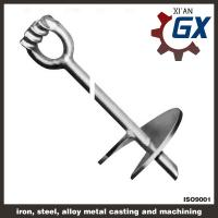 "Heavy Duty 11/4"" x 66"" with 10"" Helix ""Galvanized"" Screw Anchor Manufactures"