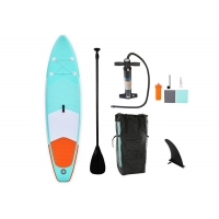 China Blow Up Carbon Fiber Sup Stand Up Paddle Board With 3 Fins on sale