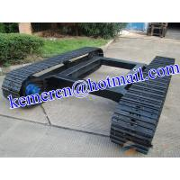 hot sell steel track undercarriage steel crawler undercarriage assembly Manufactures