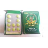Ginseng and hairy antler essence sexual stimulant herbal sex pills Manufactures