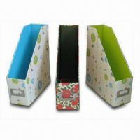 Toy Storages, Made of Paper, Woven Fabric and Cotton Lining Materials Manufactures