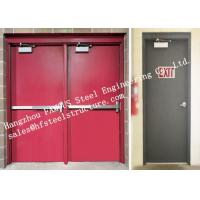 Residential Steel Fire Resistant Industrial Garage Doors With Remote Control Manufactures