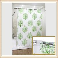 China Polyester Shower Curtain For Window With Unique Patten , Water Resistant on sale