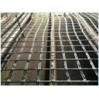 (Tensile Strength 25kn-300kn)Bitumen Coated Fiberglass Geogrid for Asphalt Reinforcement Manufactures
