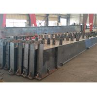 Roof Metal Support Beam , Castellated Building Steel Beams In H Shape