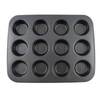 Carbon Steel Non stick bakeware 12 cups muffin pan cake mould cupcake Manufactures