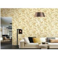 Three Dimensional Modern House Wallpaper Washable With Flower Design Manufactures
