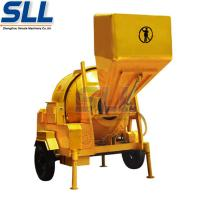 China Mini Trucks Electric Concrete Mixer Machine Mobile Cement Mixer With Hopper on sale