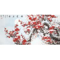 Customized elegant design traditional landscape style wall decoration painting Manufactures
