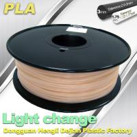 Light Change ABS 3D Printer Filament 1.75mm / 3.0mm Filament For 3D Printing Manufactures