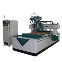 China Large Screen Display 4 Axis Wood Carving Machine , Smart Electric Wood Carving Machine on sale