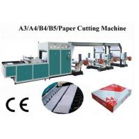 High Precision Computerized A4 Paper Cutting Packaging Machine With Servo Motor Driven Manufactures