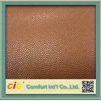 China Cold-resistant Upholstery Artificial PU Leather With Flocking Back for Home Textile wholesale
