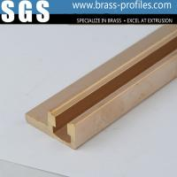 C38500 Metal Alloy Copper Brass Extrusions Sections for Electronic Manufactures
