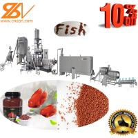 Farming Fish Feed Processing Machine Extruder Line 380v / 50hz Voltage Manufactures