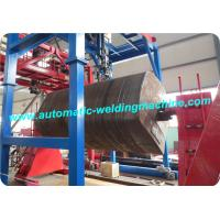 Head And Tail Stock Lifting Pipe Welding Positioner Rotary Frequency Conversion Manufactures
