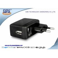 CEC Black usb power adapter , Video Players universal usb adapter Manufactures