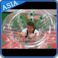 China 1.0mm TPU Soccer bubble for sale , Human soccer bubble , Bubble ball soccer on sale