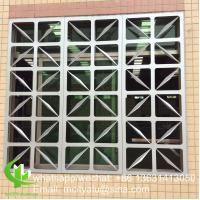 Aluminum carving panel cladding panel 2.5mm thickness for windows decoration Manufactures