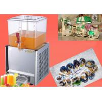 China Automatic Commercial Cold Orange Juice Refrigerator Cafeterias 20 liters Cold Fruit Juice Dispenser on sale