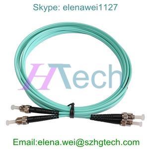PVC OM4 Duplex 7M LC/ST Fiber Optic Patch Cable Manufactures
