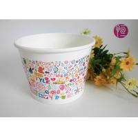 550ml Disposable Ice Cream Cups Single Wall Frozen Yogurt  SGS Manufactures