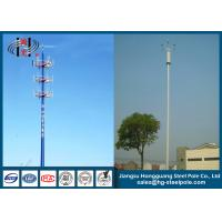 Telescopic Microwave Antenna Mobile Cell Phone Tower with Powder Coating Manufactures