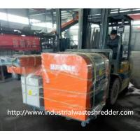 Jumbo Bag Scrap Plastic Film Shredder Double Shaft For Soft Type Materials Manufactures