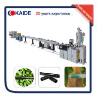 Plastic Pipe Making Machine for PE Drip Irrigation Pipe Production line KAIDE factory Manufactures