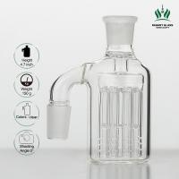 8 Fingers 4.7 Inches Glass Ash Catcher 18.8mm 8 Tree Arms Percolator For Smoking Water Pipes Manufactures