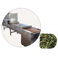 HLTD Tea Microwave Drying And Sterilization Machine Flower Color Unchanged Manufactures