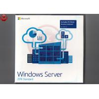 64 Bit Full Version Windows Server 2016 OEM DVD COA Sticker Windows Server 2016 Os Manufactures