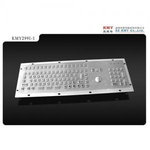 China Mini Metal keyboard with trackball on sale