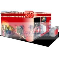4D movie theater with movie poster , advertisement cinema cabin Manufactures